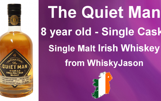 #007 - The Quiet Man 8 year old Single Cask Single Malt Irish Whiskey Review from WhiskyJason