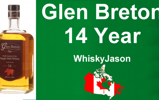 #017 - Glen Breton Rare 14 year old Canadian Single Malt Whisky review from WhiskyJason