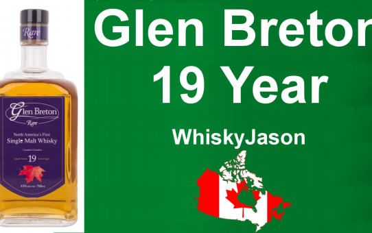 #019 - Glen Breton Rare 19 year old Canadian Whisky review from WhiskyJason