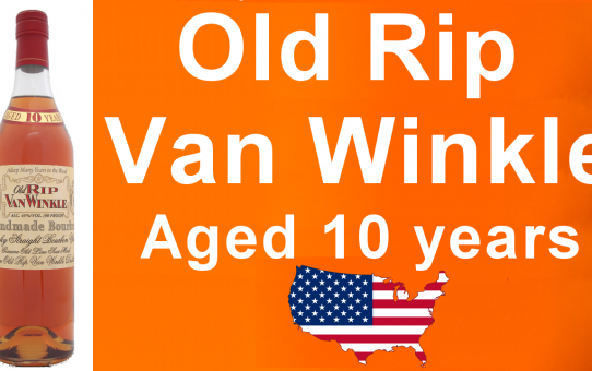 #031 - Old Rip Van Winkle (Pappy) Kentucky Straight Bourbon aged 10 years review from WhiskyJason