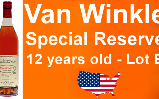 #032 - Van Winkle Special Reserve 12 year old Lot B Whiskey review from WhiskyJason