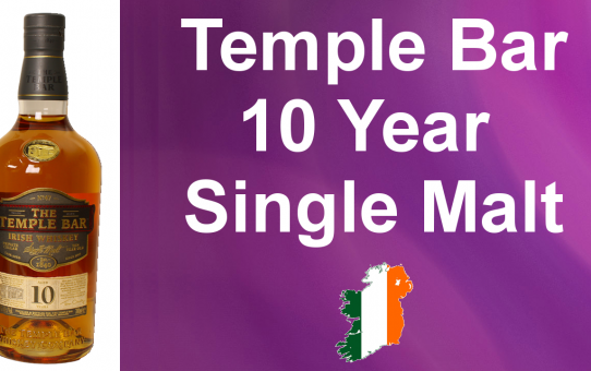 #022 - The Temple Bar 10 year old Single Malt Irish Whiskey review from WhiskyJason