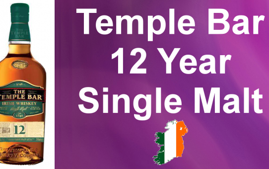#023 - The Temple Bar 12 year old Single Malt Irish Whiskey review from WhiskyJason