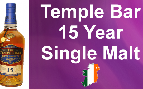 #024 - The Temple Bar 15 year old Single Malt Irish Whiskey review from WhiskyJason