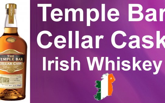 #025 - The Temple Bar Cellar Cask Single Malt Irish Whiskey review from WhiskyJason
