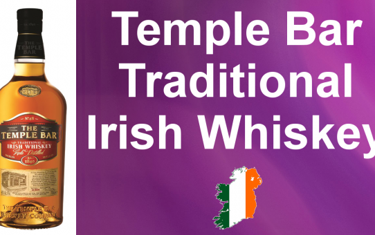 #021 - The Temple Bar Traditional Irish Whiskey review from WhiskyJason