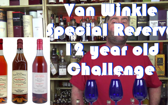 #033 - Van Winkle Special Reserve 12 year old blind tasting challenge from WhiskyJason