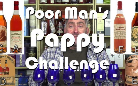 #38 - Poor Man's Pappy van Winkle Blind Tasting Challenge review from WhiskyJason