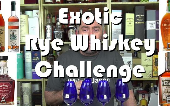 #036 - Exotic Rye Whiskey Challenge with Van Winkle Family Reserve Rye Whiskey - WhiskyJason
