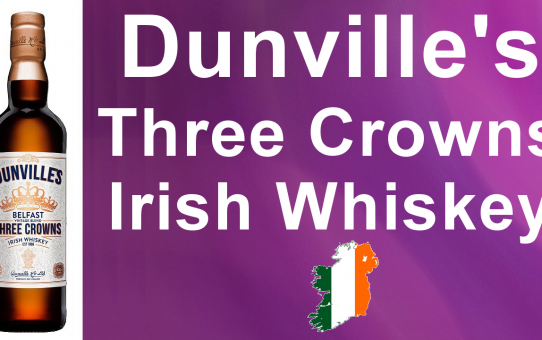 #43 Dunville's Three Crowns Irish Whiskey Review from WhiskyJason