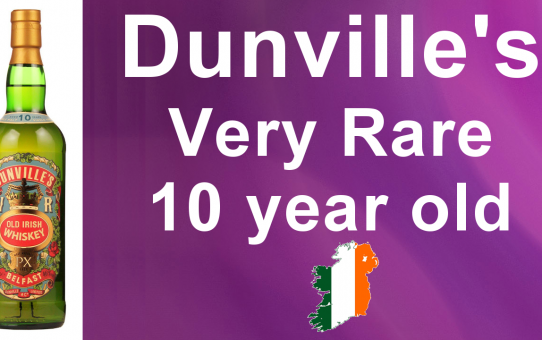 #42 - Dunville's Very Old 10 Year Old Irish Whiskey Review from WhiskyJason