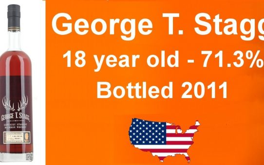 #56 - George T. Stagg 18 year old Bottled in 2011 with 71.3% Whiskey Bourbon review from WhiskyJason