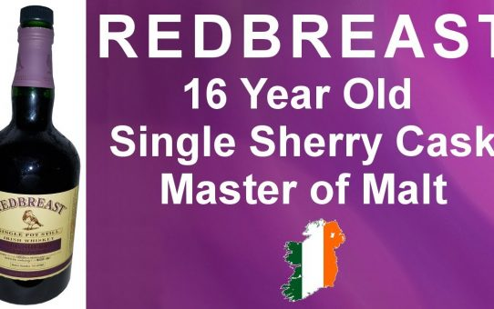 #65 -  Redbreast 16 Year Old Single Sherry Cask from Master of Malt at 60.2% ABV - WhiskyJason