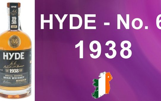 #73 - Hyde No 6 - President's Reserve - 1938 Irish Grain Whiskey review from WhiskyJason