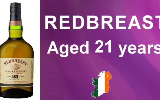 #76 - Redbreast 21 year old Irish single pot still whiskey review from WhiskyJason