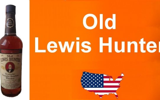 #85 - Old Lewis Hunter from the 70's Kentucky Straight Bourbon Whiskey review from WhiskyJason