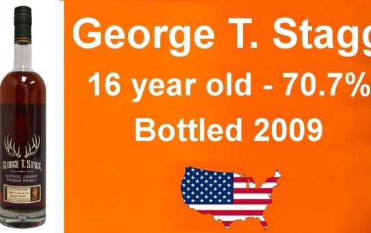#57 - George T. Stagg 16 year old Bottled 2009 with - 70.7% ABV review from WhiskyJason