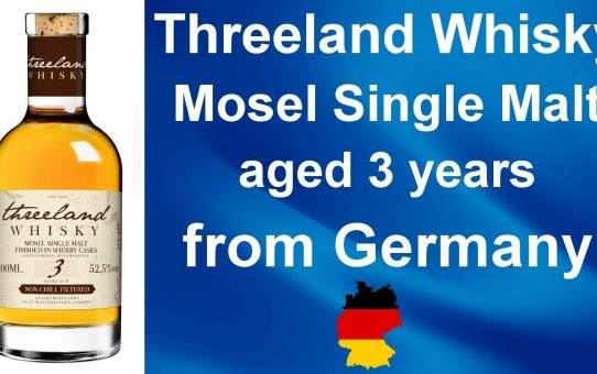 #86- Threeland  3 Year old Mosel Single Malt German Whisky Review from WhiskyJason