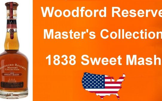 #87 - Woodford Reserve Master's Collection 1838 Sweet Mash review from WhiskyJason