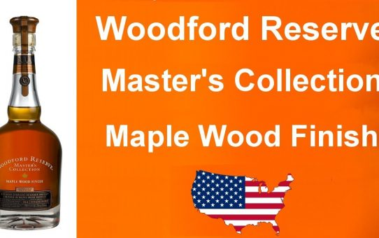 #88 - Woodford Reserve Master's Collection Maple Wood Finish review from WhiskyJason
