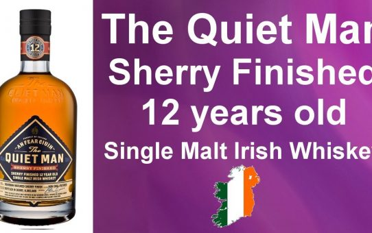 The Quiet Man Sherry Finished 12 years old Single Malt Irish Whiskey Review #090