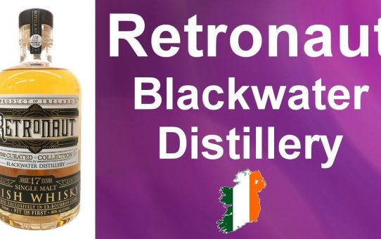Retronaut Blackwater Distillery 17 year old Irish Whisky revew #95 from WhiskyJason