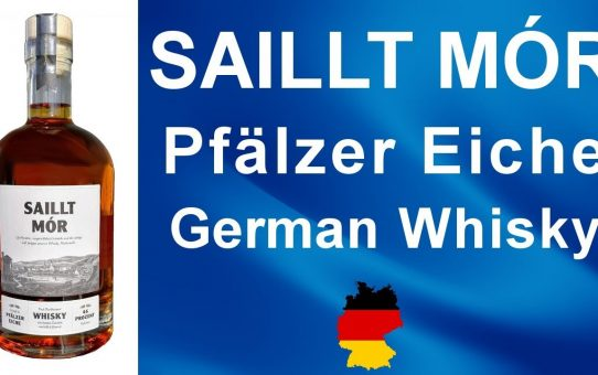 Saillt Mór Pfälzer Eiche German Whisky review #102 from WhiskyJason
