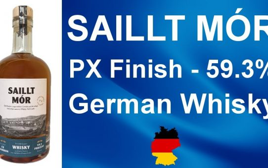 Saillt Mór Px Finish German Whisky review #103 from WhiskyJason