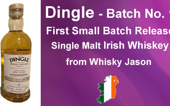 #001 - Dingle Batch No. 1 First Small Batch Release Irish Whiskey Review from WhiskyJason