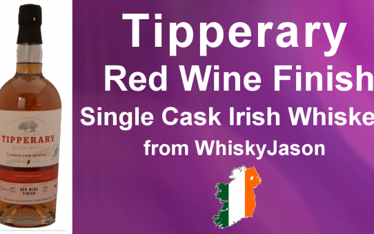 #006 - Tipperary Single Cask Red Wine Finish Single Malt Irish Whiskey Review from WhiskyJason