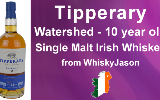 #003 - Tipperary - The Rising 11 Year old Single Malt Irish Whiskey Review from WhiskyJason
