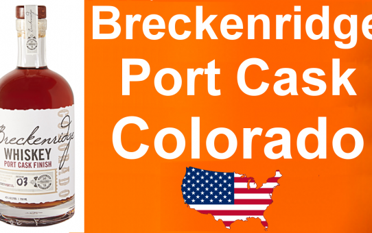 #027 - Breckenridge Port Cask Finished Colorado Whiskey review from WhiskyJason