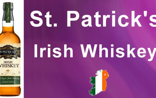 #028 - St Patrick's Irish Whiskey review from WhiskyJason