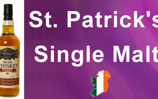 #029 - St. Patrick's Single Malt Irish Whiskey review from WhiskyJason