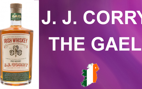 #40 - J.J. Corry - The Gael Irish Whiskey review from WhiskyJason