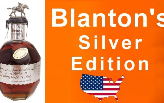 #60 - Blanton's Silver Edition Bourbon Whiskey Review by WhiskyJason