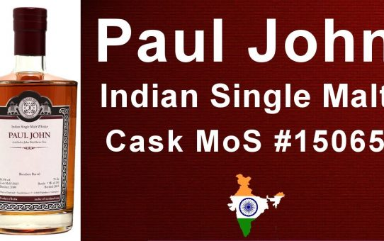 #82 - Paul John Indian Single Malt Whisky review of Cask #15065 from MoS Malts of Scotland