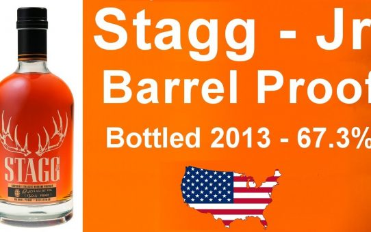 #52 - Stagg - Jr. Barrel Proof Bottled 2013 with 67.3% ABV Bourbon Review from WhiskyJason