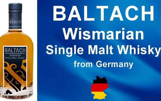 #69 - BALTACH Wismarian Single Malt Whisky from Germany reviewed by WhiskyJason