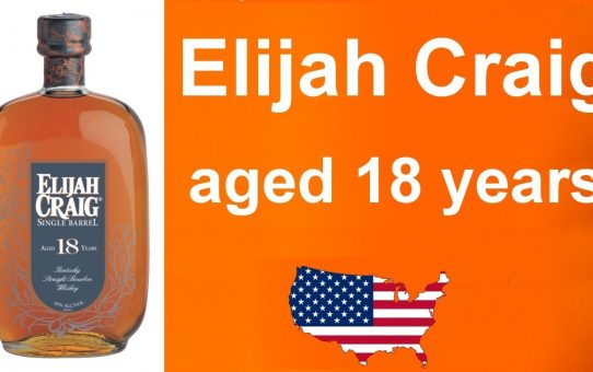 #72 - Elijah Craig aged 18 years single barrel bourbon review from WhiskyJason