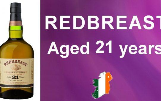 #76 - Redbreast 21 year old Irish single pot still whiskey review from WhiskyJason