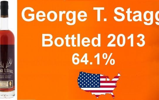 #54 - George T. Stagg Bottled 2013 with 64.1% ABV Whiskey Bourbon reviewed by WhiskyJason