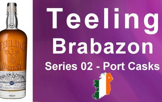 #55 - Teeling Brabazon Series 02 - Port Cask Bottling review from WhiskyJason