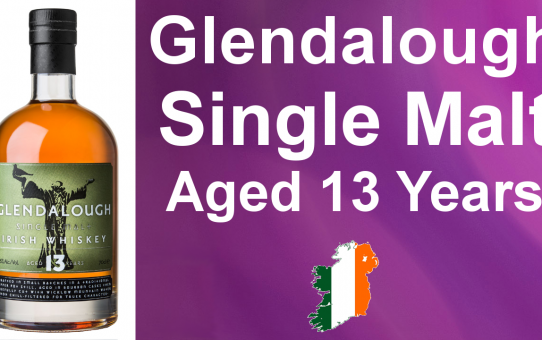 #80 - Glendalough aged 13 years Single Malt Irish Whiskey Review from WhiskyJason