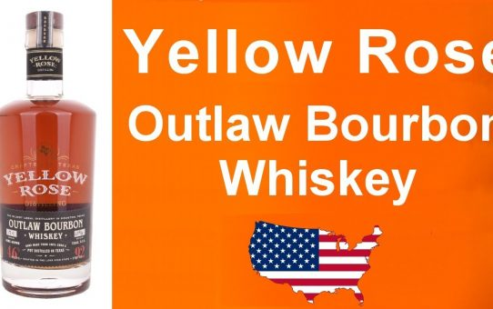 Yellow Rose Outlaw Bourbon Whiskey review #97 from WhiskyJason