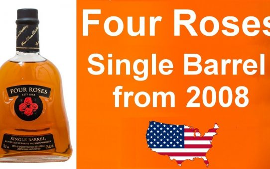 Four Roses Single Barrel from 2008 Export Bottling Review #100 from WhiskyJason