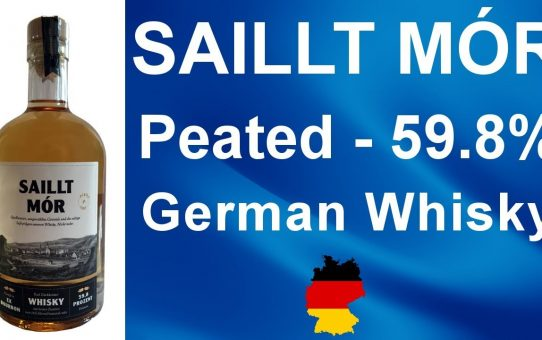 Saillt Mór peated German Whisky review #104 from WhiskyJason